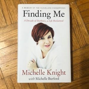 Finding Me. Michelle Knight hard cover book